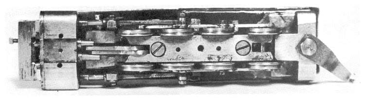 Underside view of D&H 4-8-0 at time of first steam test run